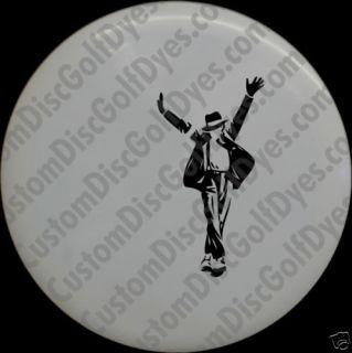 Disc Golf Custom Dye Stencil Michael Jackson 2 Pack