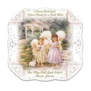 Dona Gelsinger Sisters Love Forever Collector Plate