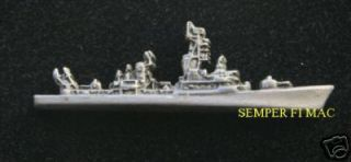 USS Dewey DLG 14 DDG 45 Guided Missile Destroyer Pin