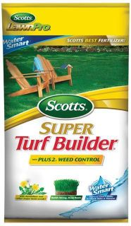 Super Turf Builder with Plus 2 Weed Control and Water Smart