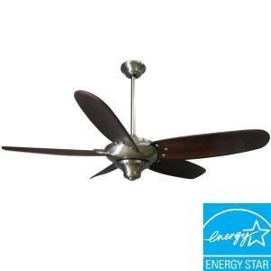 Hampton Bay Altura 56in Brushed Nickel Ceiling Fan