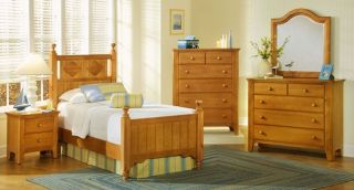 Vaughan Bassett Alexander Julians 6 Piece Bedroom Set   Full Size