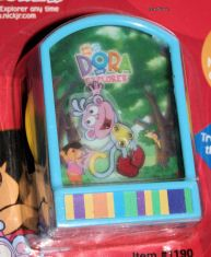 Nick Jr Dora The Explorer Boots Monkey Fun Dance Game Toy Keychain Key
