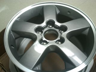 JEEP GRAND CHEROKEE REPL. ALUMINUM WHEEL GRAY ACCENT DISCONTINUED ITEM