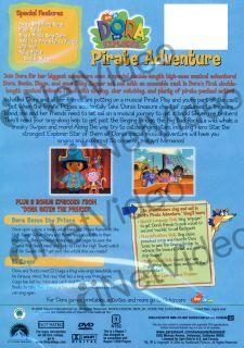 Dora The Explorer Pirate Adventure New DVD