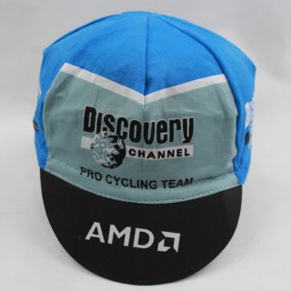 Brand new Discovery Channel Pro Cycling Team Bike Cycling Cap Hat AMD