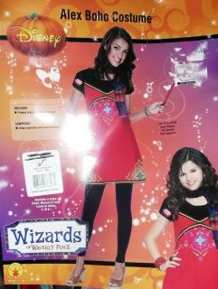 Disney Girls Teen Wizards of Waverly Place Alex Boho Dress Costume L