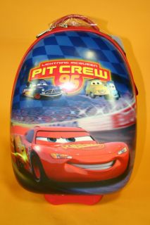 New Heys Disney 18 Cars Lightning McQueen Pit Crew 95 Carry On
