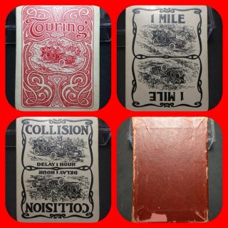 Touring The Great Automobile WALLIE DORR Historic Playing Cards Game