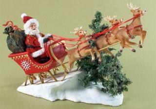 Clothtique on Donner on Blitzen Santa Sleigh Reindeer