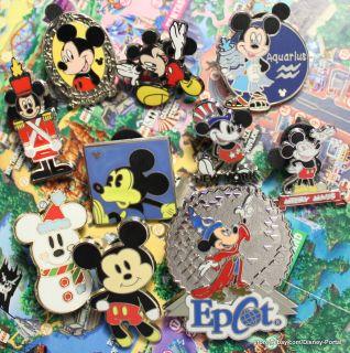 Mickey Mouse pin lot of 10 Disney pins