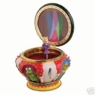 Disney Miss Piggy Muppets Magical Music Jewelry Box New