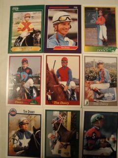 Horse Racing Jockey Cards 9 Tim Doocy 1991 1999