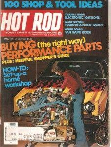April 1976 Hot Rod Doug Nash 5 Speed Transmission Mopar
