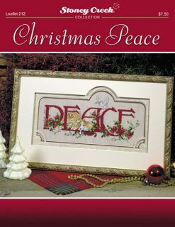 Stoney Creek Christmas Peace Cross Stitch Pattern Leaflet