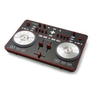 Numark MixTrack Pro DJ Controller w/ Crane Stand Basic White Laptop