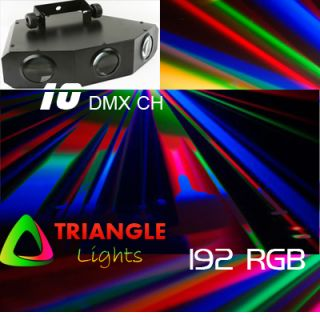 LED RGB Party Effect DJ Sound Active Light Triflash