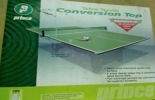 Prince DMI Sports Billiard Table Conversion Table Tennis Top