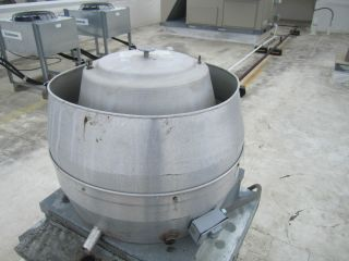 Upblast Roof Ventilator Restaurant Exhaust Fan Sonic 679R