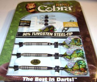 DMI Sports King Cobra 90 Tungsten Steel Tip Dart 24 Gram