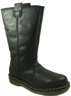 New Dr Martens Mens Owen Black Polished Laredo Boots US 12