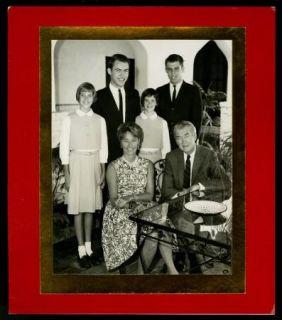 James Stewart Vintage 1960s Original Christmas Card Xmas to Douglas