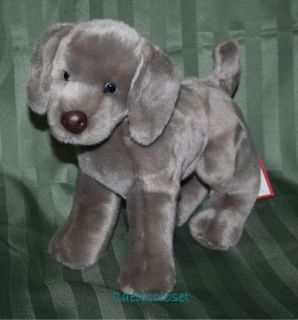 Douglas Plush Hans WEIMARANER Gray Grey Stuffed Puppy Dog Cuddle Toy