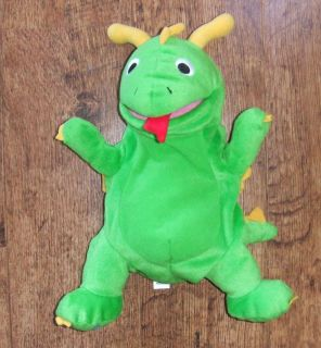 Disney Baby Einstein Bard the Dragon Talking Singing ABC Puppet