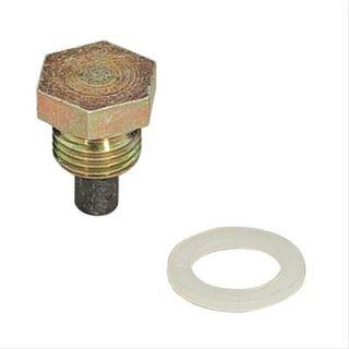 Summit Racing G15 Oil Pan Drain Plug Magnetic 1 2 20 RH Threads Each