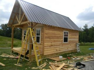 log cabin kit in Building Materials & Supplies
