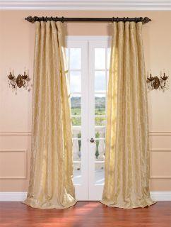 marakesh sand faux silk curtains drapes luxurious affordable custom