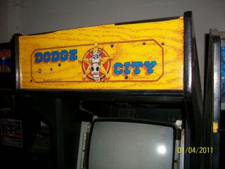 Dodge City Arcade Video Game not Working