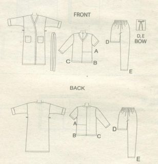 4319_womens_robe_pajama_pattern_drawing600