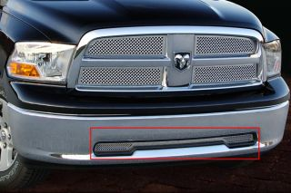 09 12 Dodge RAM Bumper Insert Stainless Steel Truck Grille by E G