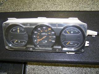 1981 1989 Dodge Pickup Ramcharger Instrument Cluster Gauges