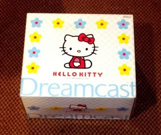Sega Dreamcast Hello Kitty Blue System Brand New
