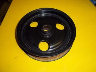 02 Ford F250 F350 7 3L Diesel Power Steering Pump Pulley F8TE 3D673 AA