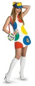 Game with Spinner Purse Halloween Costume Fancy Dress Up
