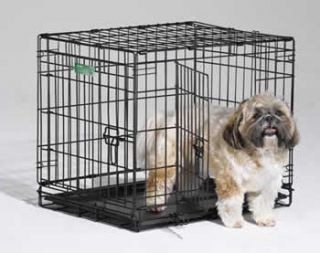 24 Double Door Icrate Dog Crate Kennel Cage with Divider Midwest