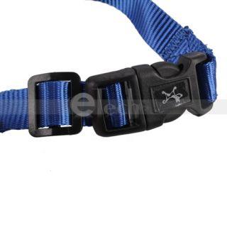 New Nylon Adjustable Grooming Pet Dog Mesh Muzzle 5 Size Blue