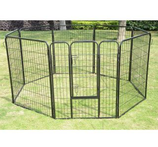 24 32 40 Heavy Duty Pet Playpen Dog Exercise Pen Cat Fence