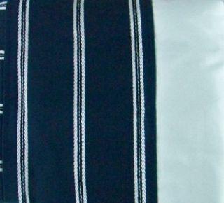New Port Arthur Grommeted Window Panel 52x84 Curtains Navy Blue
