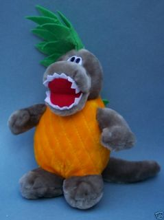 Dole Pineosaurus Stuffed Plush Pineapple Toy Cute