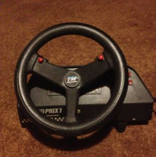 grand prix 1 video Game Steering wheel driving game serial port