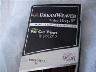 Dream Weaver Water by Model Model Deep Pre Cut Human Hair Weave/ Hair