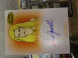 A35 Lois Jewell Auto Card as Drusilla Star Trek Complete Animated