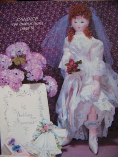Sculpture Doll Patterns Fancy Fashion Dolls Country Family Baby Dolls