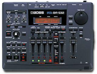 Boss BR 532 Digital Recording Studio Effects FX Smart Media Memory