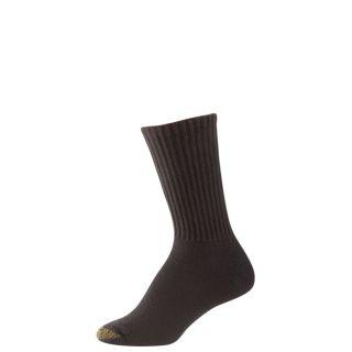 Gold Toe Womens Socks Ultratec Sport Crew Black 3 Pairs