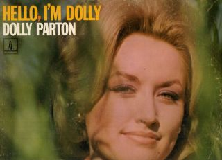 Dolly Parton 2 RARE Early Country LPS Mine 1967 1968 1st Monument LP